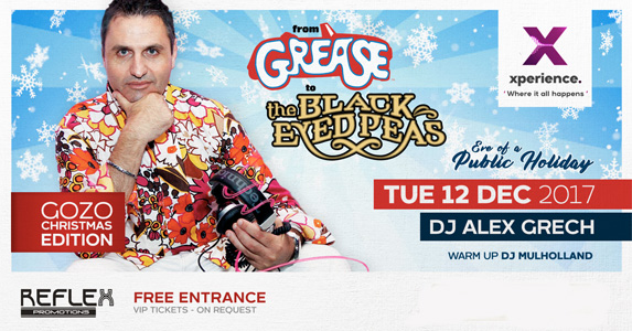 From Grease to Black Eyed Peas - 12th December 2017